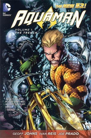 Aquaman Vol 1 The Trench HC