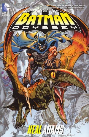 Batman Odyssey HC