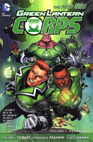 Green Lantern Corps (New 52) Vol 1 Fearsome HC
