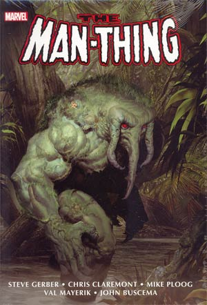 Man-Thing Omnibus HC Book Market Ariel Olivetti Cover