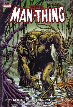 Man-Thing Omnibus HC Direct Market Frank Brunner Cover