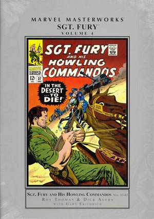 Marvel Masterworks Sgt Fury Vol 4 HC Regular Dust Jacket