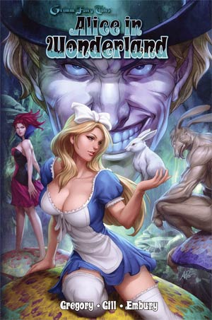 Grimm Fairy Tales Presents Alice In Wonderland HC