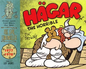 Hagar The Horrible The Epic Chronicles Dailies 1977-1978 HC