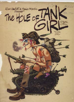 Hole Of Tank Girl Slipcased Collectors Edition HC