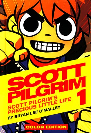 Scott Pilgrim Color Edition Vol 1 Scott Pilgrims Precious Little Life HC