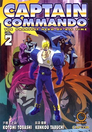 Captain Commando Vol 2 GN