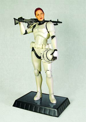 Star Wars Female Stormtrooper Statue