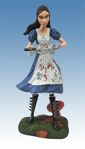 Femme Fatales Alice Madness Returns PVC Statue