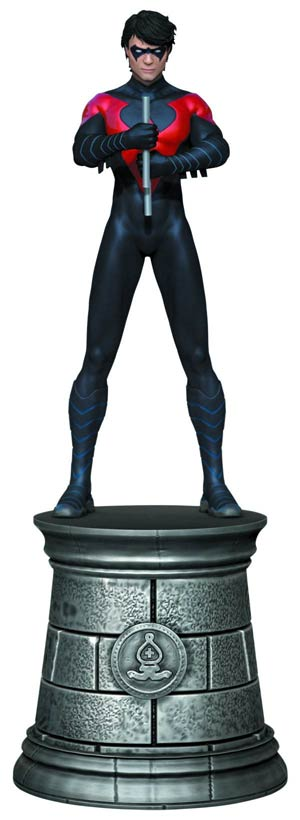DC Superhero Chess Figure Collector Magazine #14 Nightwing White Bishop