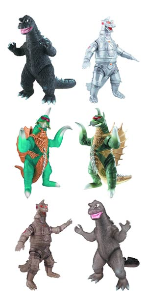Godzilla 6-Inch Collectible Action Figure Assortment Case 201201