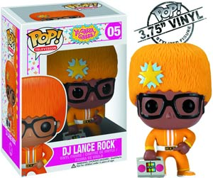 POP Television 05 Yo Gabba Gabba DJ Lance Rock Vinyl Figure