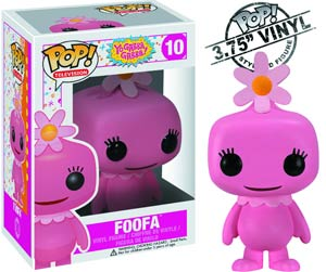 POP Television 10 Yo Gabba Gabba Foofa Vinyl Figure