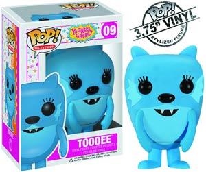 POP Television 09 Yo Gabba Gabba Toodee Vinyl Figure