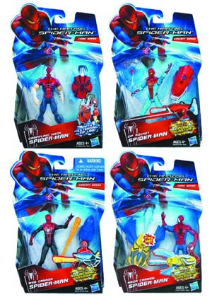 Amazing Spider-Man Mission Spidey Action Figure Assortment Case 201202