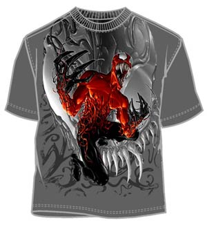 Carnage Gutsy Charcoal T-Shirt Large