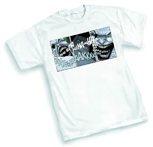 Dark Knight Joker By Frank Miller T-Shirt Large