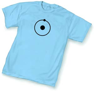 Watchmen Dr Manhattan Symbol T-Shirt Large