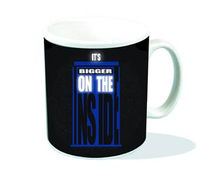 Doctor Who Mug - TARDIS Bigger On The Inside