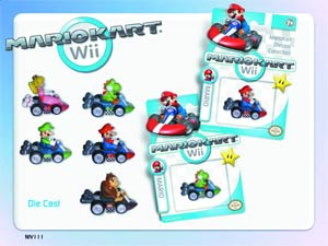Mario Kart Wii Die-Cast 12-Piece Assortment Case