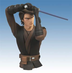 Star Wars The Clone Wars Anakin Skywalker Bust Bank