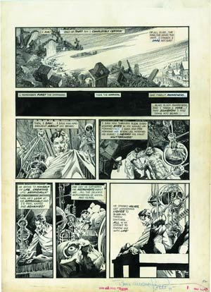 Bernie Wrightsons The Muck Monster Artists Edition Portfolio