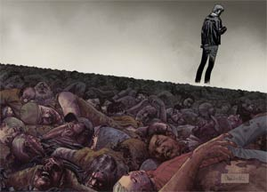 Walking Dead #100 Poster