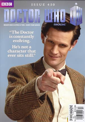 Doctor Who Magazine #450 Aug 2012