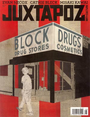 Juxtapoz #139 Aug 2012