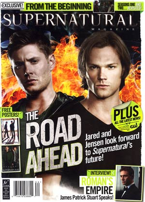 Supernatural Magazine #34 Aug / Sep 2012 Newsstand Edition