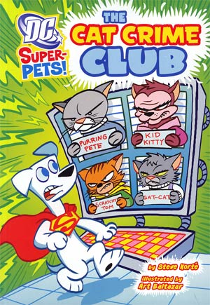 DC Super-Pets Cat Crime Club TP