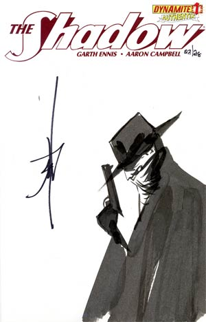 Shadow Vol 5 #1 Incentive Authentix Cover With Hand-Drawn Jae Lee Sketch Edition 22 of 218 (one of a kind - sold as is)