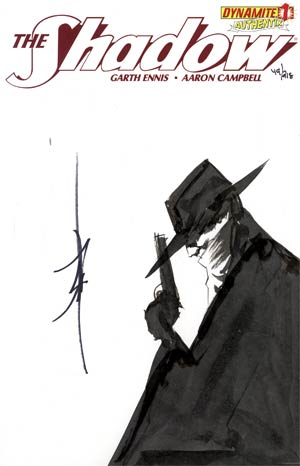 Shadow Vol 5 #1 Incentive Authentix Cover With Hand Drawn Jae Lee Sketch Edition 49 of 218 (one of a kind - sold as is)