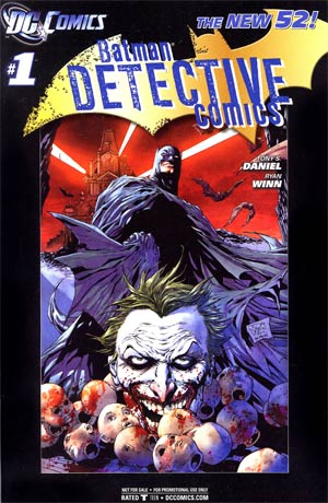 Detective Comics Vol 2 #1 Retailer Incentive Black Border Variant Cover