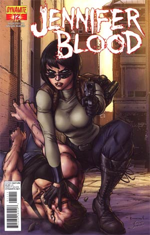 Garth Ennis Jennifer Blood #12 Regular Ale Garza Cover