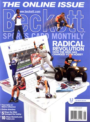 Beckett Sports Card Monthly #326 Vol 29 #5 May 2012