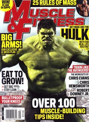 Muscle & Fitness Magazine Vol 73 #5 May 2012