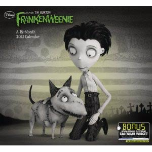 Frankenweenie 2013 12x11-Inch Wall Calendar