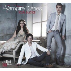 Vampire Diaries 2013 12x11-Inch Wall Calendar