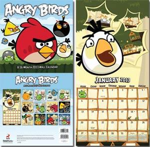 Angry Birds 2013 12x12-Inch Wall Calendar