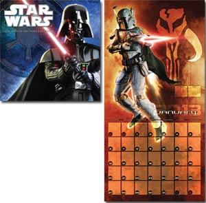 Star Wars Saga 2013 12x12-Inch Wall Calendar