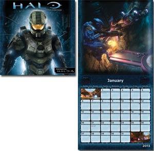 Halo 4 2013 12x12-Inch Wall Calendar