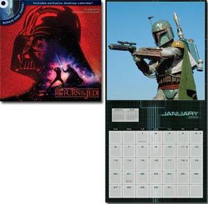Star Wars Saga 2013 12x12-Inch DVD Wall Calendar