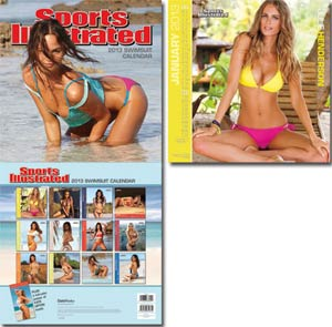 Sports Illustrated Swimsuit 2013 15x15-Inch Deluxe Wall Calendar