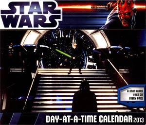 Star Wars Saga 2013 6x5-Inch Page-A-Day Calendar