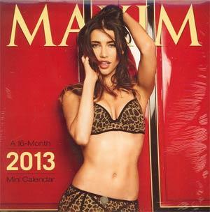 Maxim 2013 6x6-Inch Mini Wall Calendar