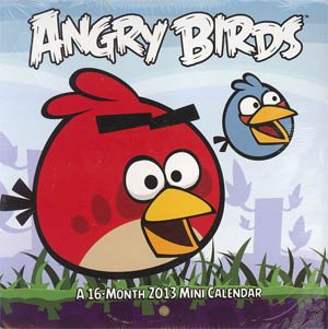 Angry Birds 2013 6x6-Inch Mini Wall Calendar