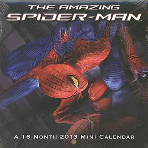 Amazing Spider-Man 2013 6x6-Inch Mini Wall Calendar