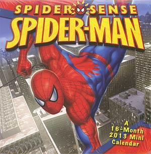 Spider-Man Spider Sense 2013 6x6-Inch Mini Wall Calendar