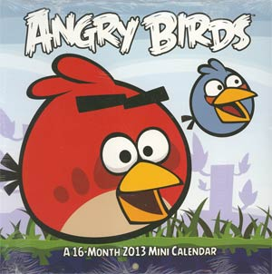 Angry Birds 2013 7x7-Inch Mini Wall Calendar